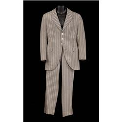 "Keenan Wynn ""Charlie Davenport"" two-piece grey striped suit from Annie Get Your Gun"