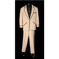 """Howard Keel """"Frank Butler"""" ivory cowboy outfit, boots and hat from Annie Get Your Gun"""