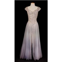 "Dorothy Kirsten ""Louise Heggar"" grey gown from The Great Caruso"