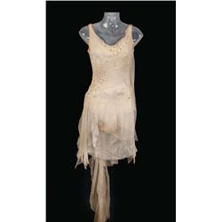 "Cyd Charisse ""Dancer"" Ivory crepe and chiffon ballerina dress from Singin' in the Rain"