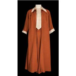 "Lucille Ball ""Tacy Bolton-Collini"" Brown skirt, blouse and coat from The Long, Long Trailer"