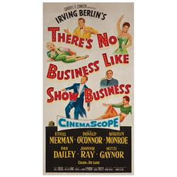 There's No Business Like Show Business original U.S. three-sheet poster