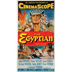 The Egyptian original U.S. three-sheet poster