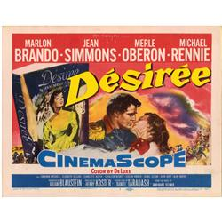Desirée complete Lobby-Card Set of 8