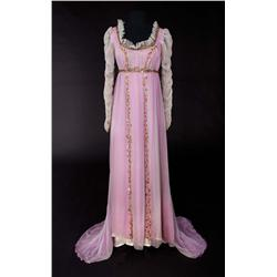 "Cathleen Nesbitt ""Mme. Bonaparte"" chiffon over organdy gown from Desirée"