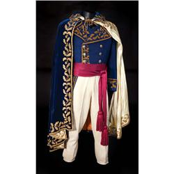 Michael Rennie  Napoleonic style complete formal 4-piece uniform from Desir&#233;e