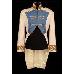 "Michael Rennie ""Jean-Baptiste Bernadotte"" Napoleonic style cream military jacket from Desirée"