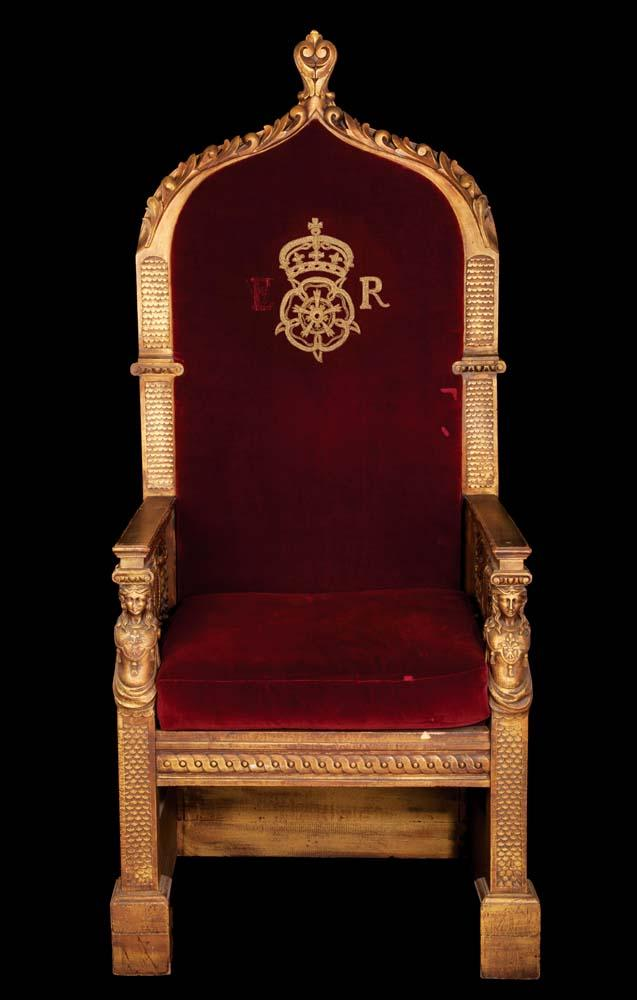 Royal king chair - The Virgin Queen Monumental Royal Dining Table Throne Of