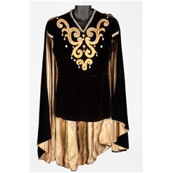 """Danny Kaye """"Hubert Hawkins"""" royal court doublet and cape from The Court Jester"""