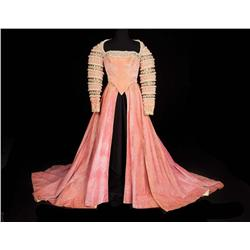 "Marisa Pavan ""Catherine de Medici"" rose velvet period court gown by Walter Plunkett from Diane"