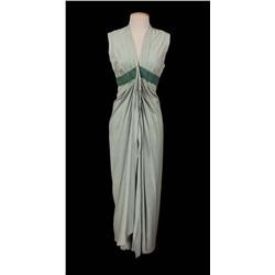 "Judith Anderson ""Memnet"" green raw-silk robe from The Ten Commandments"