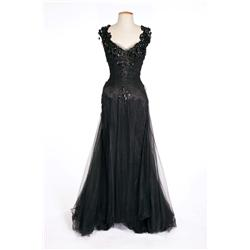 "Deborah Kerr ""Terry McKay"" black chiffon gown from An Affair to Remember"
