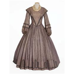 Agnes Moorehead and Myrna Hansen period dresses and hat from Raintree County