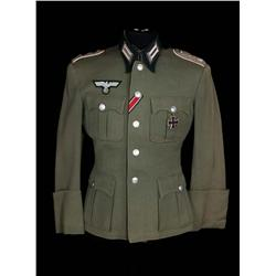"Marlon Brando ""Lt. Christian Diestl"" German officer's uniform jacket from The Young Lions"