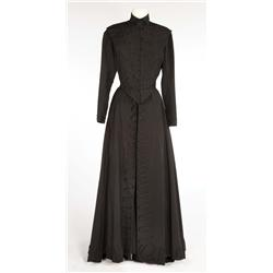 "Hermione Gingold ""Madame Alvarez"" black gabardine suit from Gigi"