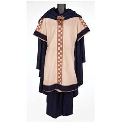 "Charlton Heston ""Judah Ben-Hur"" tunic and cape for royal procession into Rome from Ben-Hur"