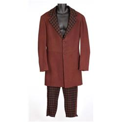 "Gregory Peck ""Cleve Van Valen"" overcoat and plaid pants from How the West Was Won"