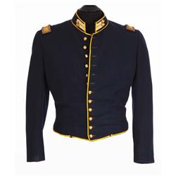 "George Peppard ""Zeb Rawlings"" military jacket from How the West Was Won"