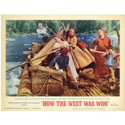 How the West was Won complete Lobby-Card Set of 8