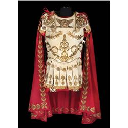 Richard Burton tunic and burgundy cape with short sword, by Nino Novarese for Cleopatra