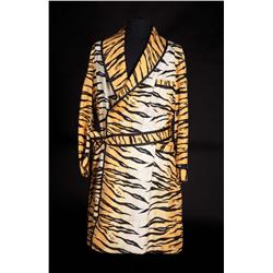 "Jesse Pearson ""Conrad Birdie"" tiger-striped dressing robe from Bye Bye Birdie"