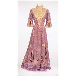 "Debbie Reynolds ""Molly Brown"" signature lavender lace gown from The Unsinkable Molly Brown"