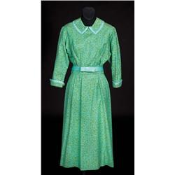 Julie Andrews Maria turquoise and green dress from Sound of Music