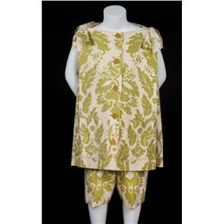 "Pair of Trapp family children's ""drapery"" costumes from The Sound of Music"