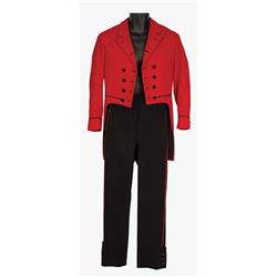 "Jim Hutchinson ""Stanley"" red and black waiter outfit from Hello, Dolly!"