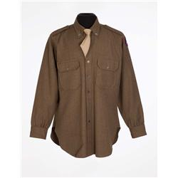 "George C. Scott ""General George S. Patton, Jr."" military shirt and tie from Patton"