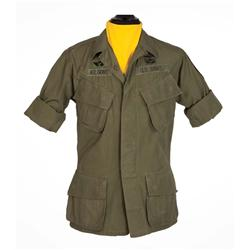 Robert Duvall tropical combat coat and signature yellow branch scarf from Apocalypse Now