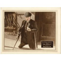 The Penalty original 1920 Lon Chaney Sr. portrait Lobby Card
