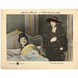 The Idle Class original Charlie Chaplin Lobby Card