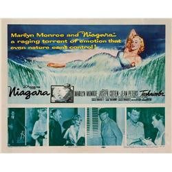"Niagara original 22"" x 28"" half-sheet poster for Marilyn Monroe film"