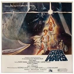 Star Wars: Episode IV- A New Hope original U.S. six-sheet poster