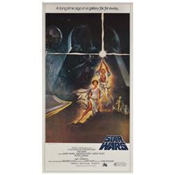 Star Wars: Episode IV- A New Hope original U.S. three-sheet poster