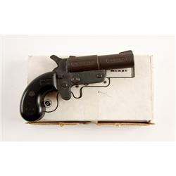 F.M.J. Cobray Mdl D Cal .45 SN:4518429 Inexpensive single shot top break pocket pistol. Phosphate fi