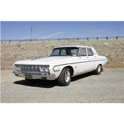 Plymouth 1964 Belvedere 4 Door Sedan Original; 318 w/poly heads; factory a/c; power steering; push-b