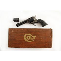 Colt SAA Cal .45acp/.45 LC SN:84087SA Nice convertible Colt SAA with cylinders for .45ACP and .45Lon