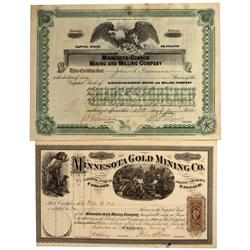 AZ - Mohave County,1866, 1911 - Mohave County Mining Stocks Certificates - Fenske Collection
