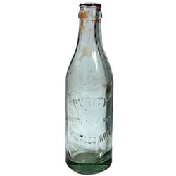 AZ - Nogales,1917 - Purity Bottling Works Bottle