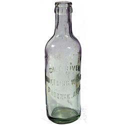 AZ - Phoenix,c1910 - Salt River Bottling Works Bottle