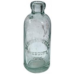 AZ - Prescott,c1905 - Beavers & Heisler Bottle