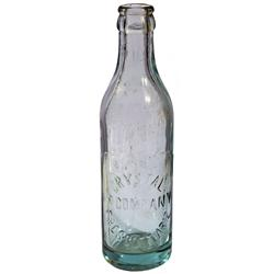 AZ - Prescott,c1918 - Crystal Ice Company Bottle