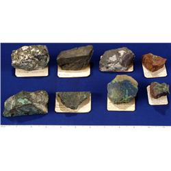 NV - Copper Ore Specimens - Nevada