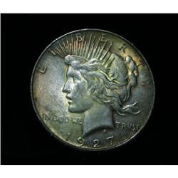 1927-d Peace Dollar $1 Grades Select Uncirculated ms63