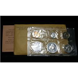 1962 Proof Set Original Packaging Including Mint Letter