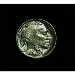 1913-p TY II Buffalo Nickel 5c Grades Gem Uncirculated ms65