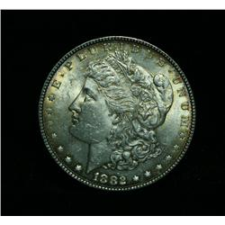 1882-p Morgan Dollar Grades Select Uncirculated ms63+