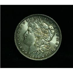 1896-p Morgan Dollar $1 Grades Choice Uncirculated ms64